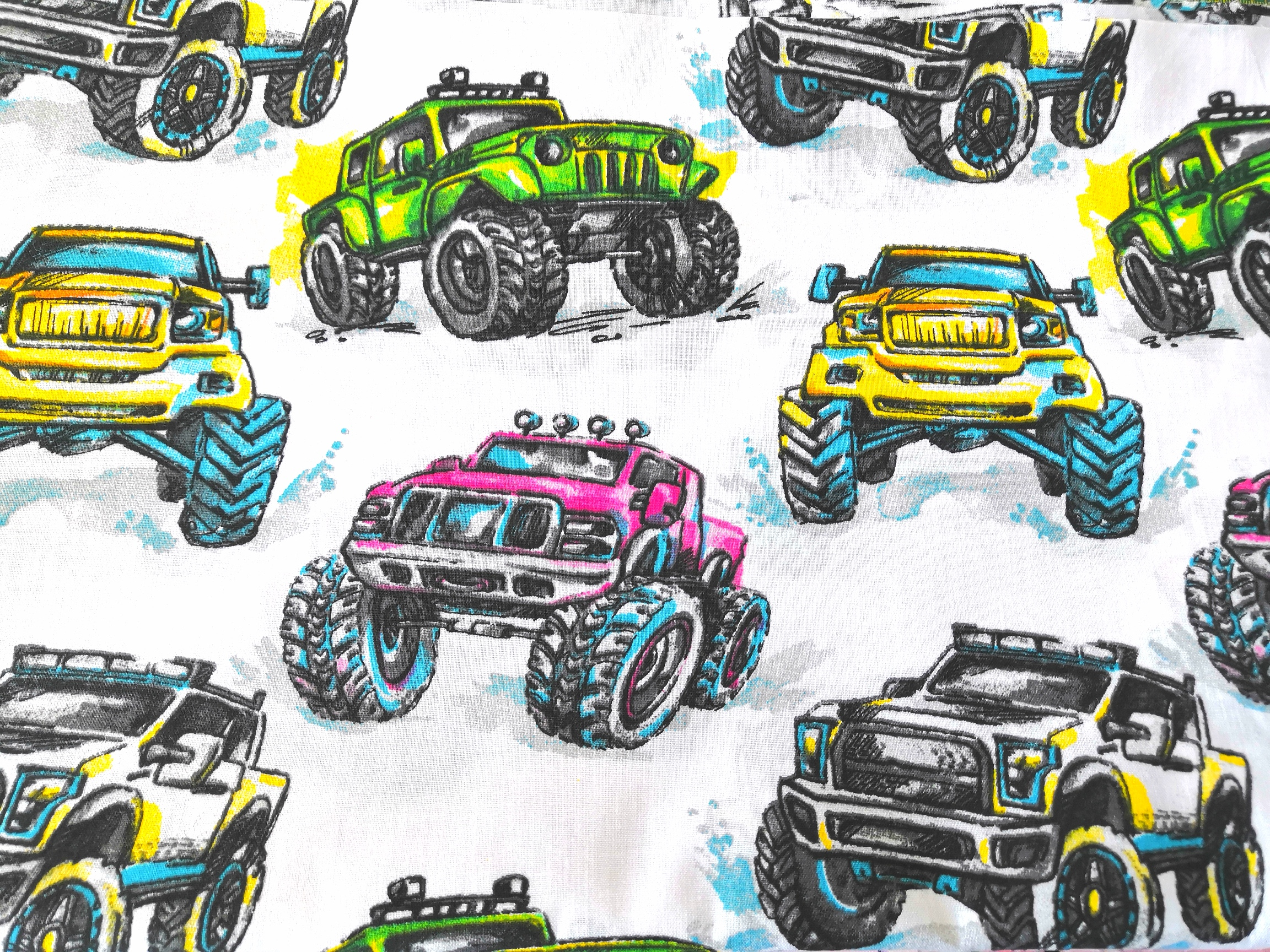 Rouška Monster Truck